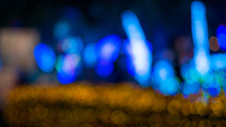 Bokeh circulate background, pattern bokeh background, Reklamní fotografie - 95031345
