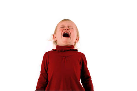 angry baby: Temper Tantrum