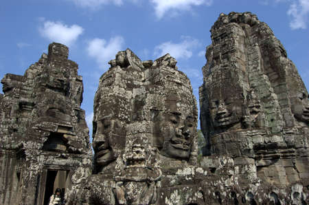 angkor thom: Angkor Thom Temple in Cambodia Stock Photo