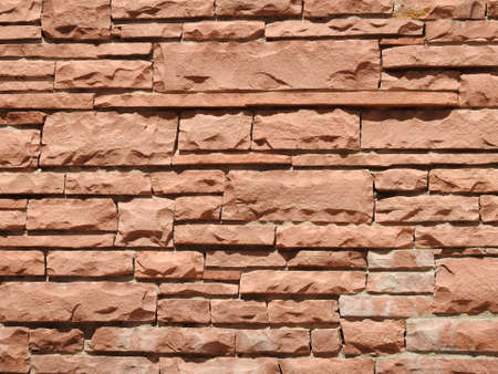 stack stone: Stack stone wall texture Stock Photo
