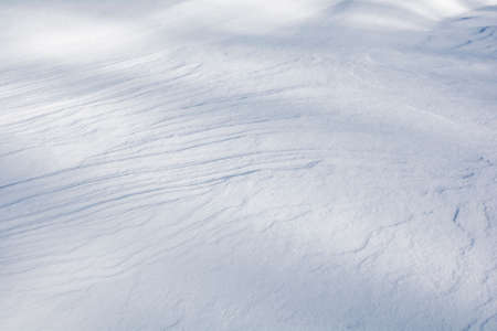 Silky soft snow pattern for background