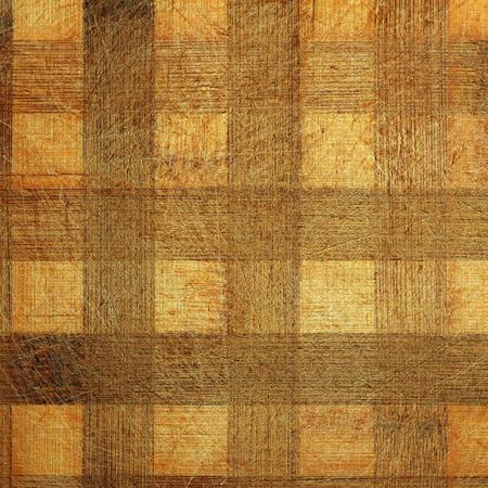 old desk: old natural scratched wooden desk with squares