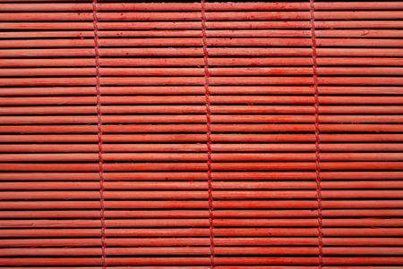 wickerwork: red natural wickerwork background from bamboo stick