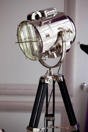 destined: Professional floor lamp, destined to photostudio lighting