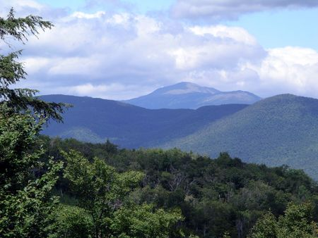 View out from the Mount Washington Road photo