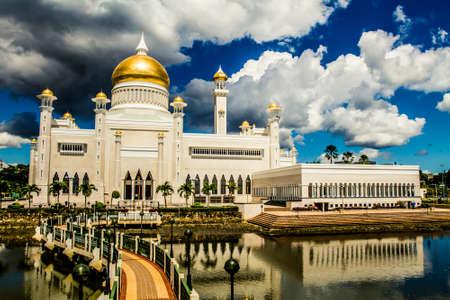 Sultan Omar Ali Saifuddin Mosque in Bandar Seri Begewan, Brunei