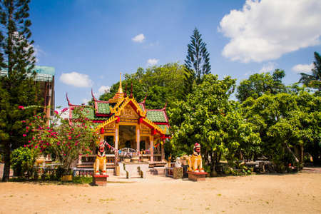 Buddhist temple in Asia Stock Photo