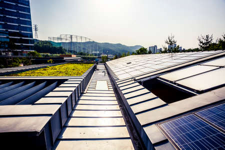 Solar panels for green and renewable energy