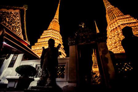 Wat Phra Kaew in Bangkok, Thailand 新聞圖片