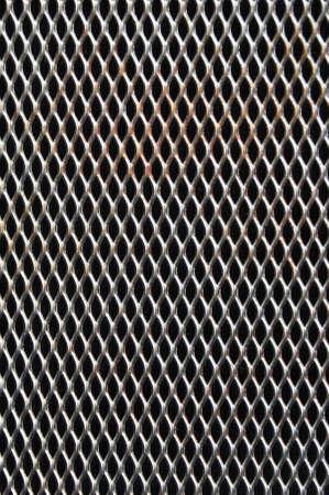 malla metalica: Fondo de metal perforado