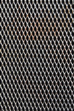 perforated metal background Stock Photo - 12843841