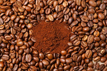 Roasted Grain and Ground Coffee