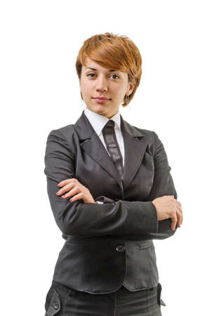Businesswoman Isolated On A White Background