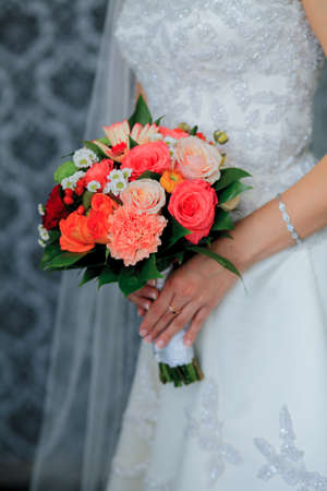 wedding flowers Standard-Bild