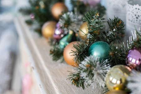 Decorated Christmas photo