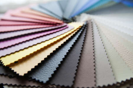 colored leather