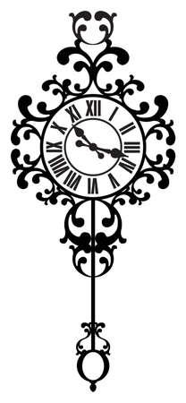 midnight hour: Vintage Clock
