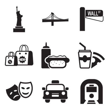 city building: New York Icons