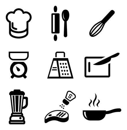 ustensiles de cuisine: Icônes de cuisine