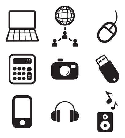 IT Icons Illustration