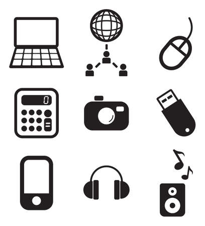 computer mouse: IT Icons Illustration