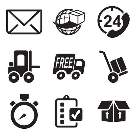 telephone box: Delivery or Shipping Icons