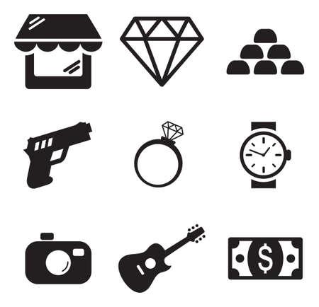 diamante: Pawn Shop Iconos