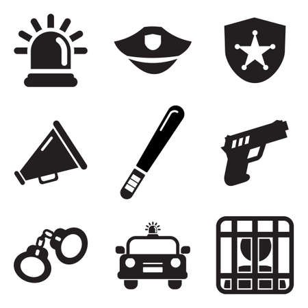police badge: Police Icons
