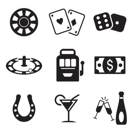maquinas tragamonedas: Casino o iconos de juego
