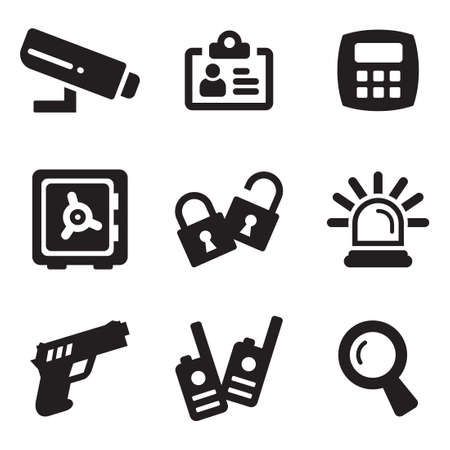 alarm system: Security Icons