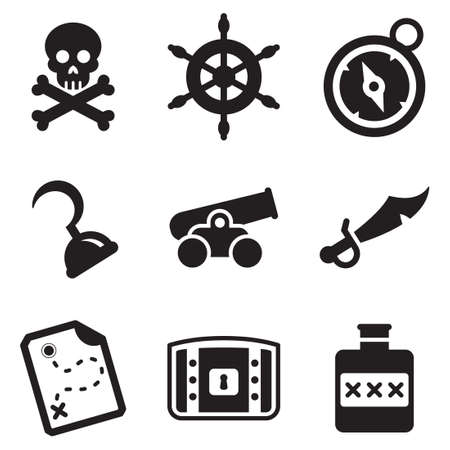 pirate treasure: Pirate Icons