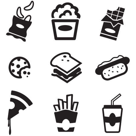sandwich: Snack Icons