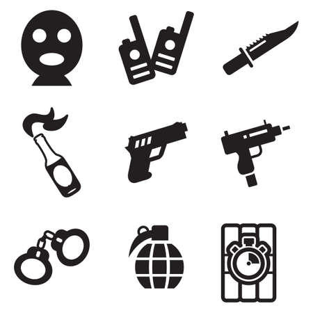 explosive watch: Terrorist Icons