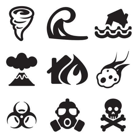 armageddon: Armageddon Icons Illustration