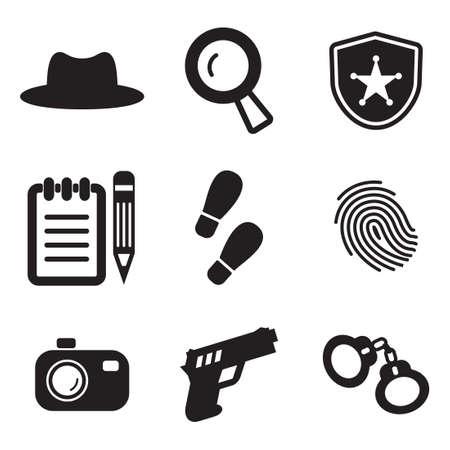 detective: Detective Icons