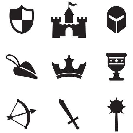 rycerz: średniowieczne ikony