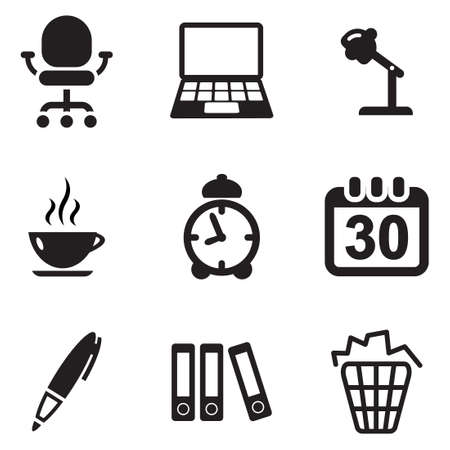 working overtime: Office Icons