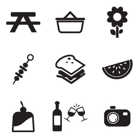 picnic table: Picnic Icons