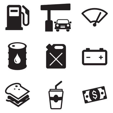 Gas Pump Icons
