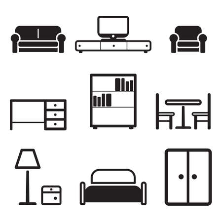 recline: Furniture Icons