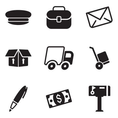 mail man: Mail Man Icons