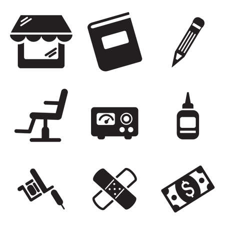 machine shop: Tattoo Icons