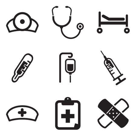 flue: Hospital Icons
