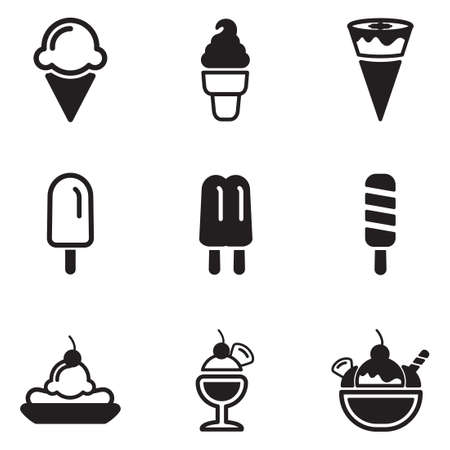 ice cream scoop: Ice Cream Icons