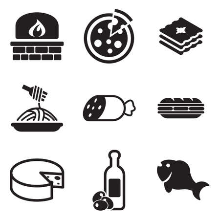 pasta: Italian Food Icons