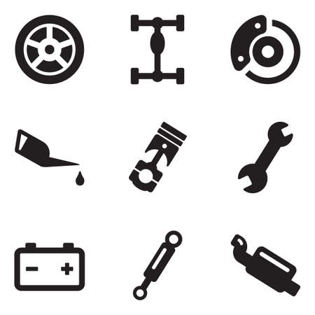 Car Mechanic Icons