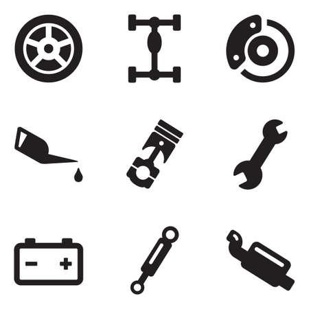 lube: Car Mechanic Icons