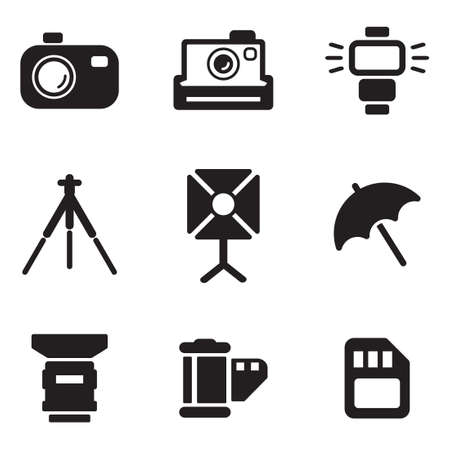 digital camera: Photography Icons