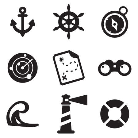 life jackets: Nautical Icons