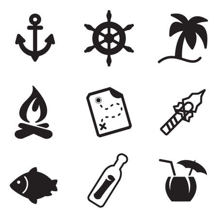 stranded: Desert Island Icons